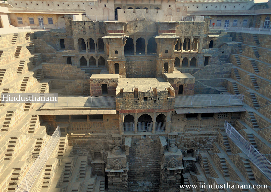 Largest step well in the world 'Chand Baori'