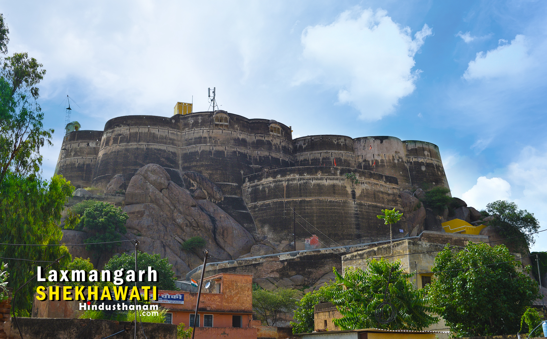 Laxmangarh Fort Sikar Shekhawati HD Photos