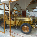 Beautiful Jeep of Inder Baisa in the Temple Khurad Nagaur
