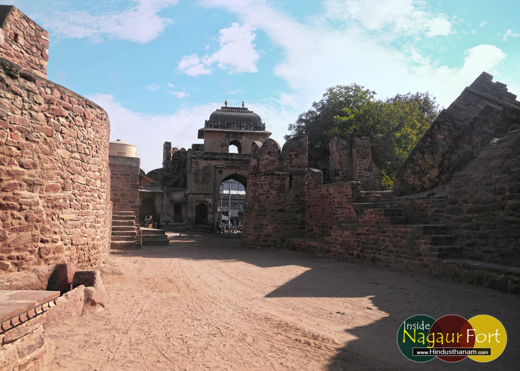 nagaur-fort-entrance photo