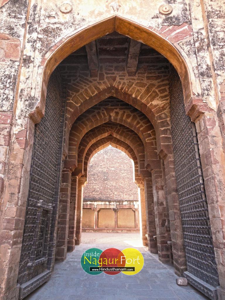 Bichli Pole Nagaur Fort