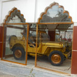 Jeep of Inder Baisa in the Temple Khurad Nagaur Photo